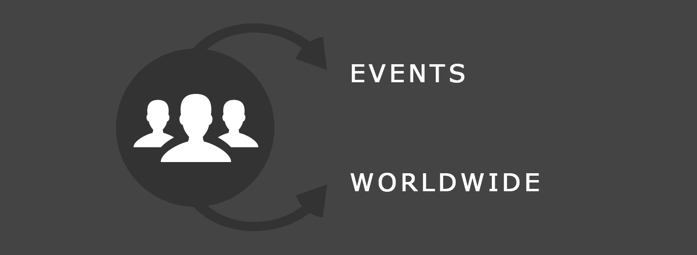 Community: Events & Worldwide